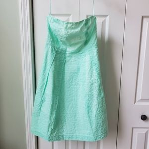 Brand New JCREW Lorelei Strapless Dress - Sz. 6